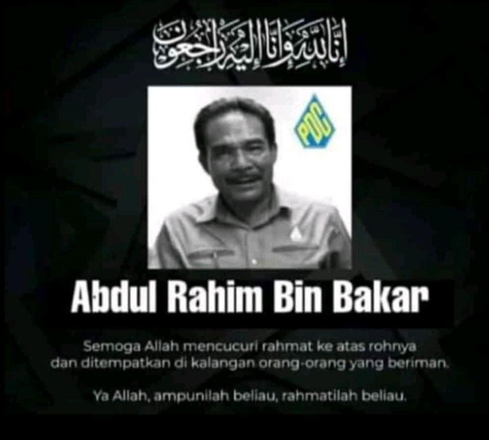 A memorial picture of Abdul Rahim