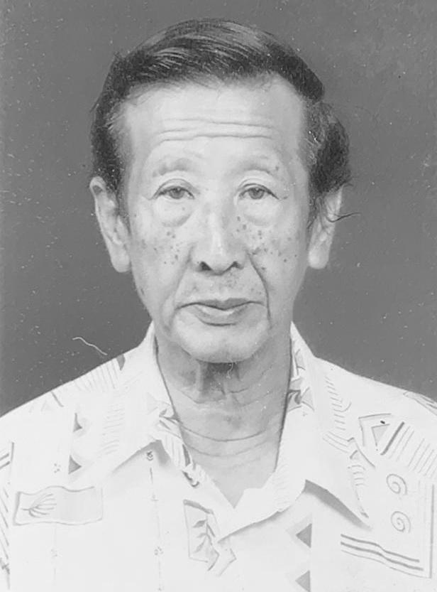 Yan Qing Huang, 82 is an elderly man.